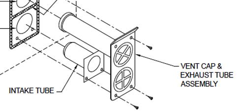 Suburban Furnace Vent Kit 520501 (7