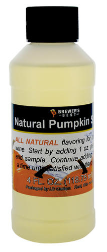 Pumpkin Spice Natural Fruit Flavor 4oz