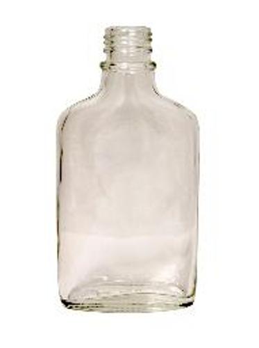 Glass Flask 200ml Bordeaux w/ cap - each