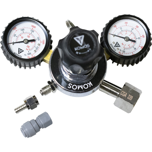 Komos Dual Gauge Regulator
