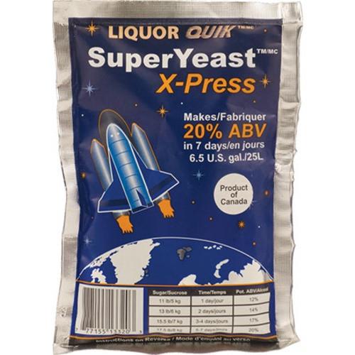Liquor Quik SuperYeast X-press Turbo Yeast