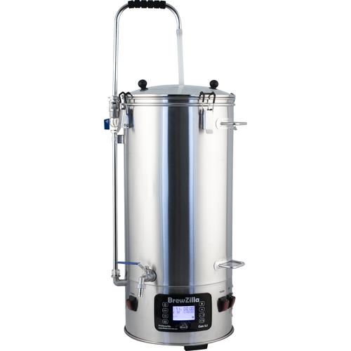 BrewZilla All Grain Brewing System With Pump - 35L/9.25G (110V)