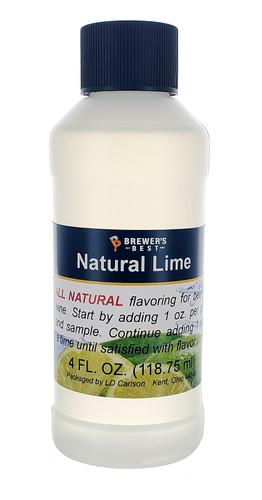 Lime Natural Fruit Flavor 4oz
