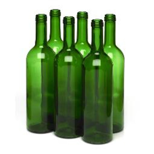 Wine Bottle Green 750ml Bordeaux (12ct)