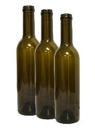 Wine Bottle Green 375ml Semi-Bordeaux (12ct)