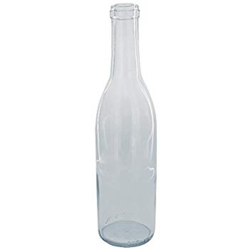 Wine Bottle Clear 375ml Renana-Style (12ct)