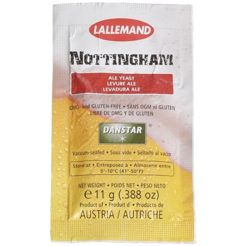 Lallemand Nottingham Dry Ale Yeast 11g