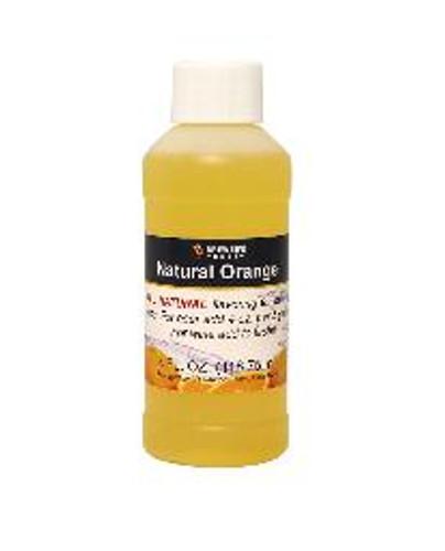Orange Natural Fruit Flavor 4oz