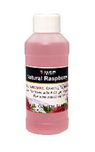 Raspberry Natural Fruit Flavor 4oz