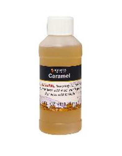 Caramel Natural Extract 4oz
