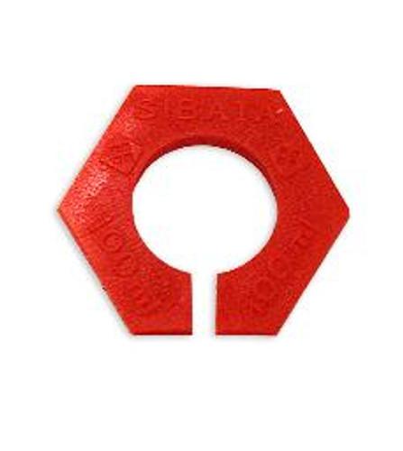 Hydrometer Jar Red Bumper