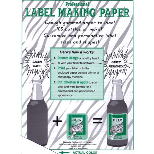 Label Making Paper