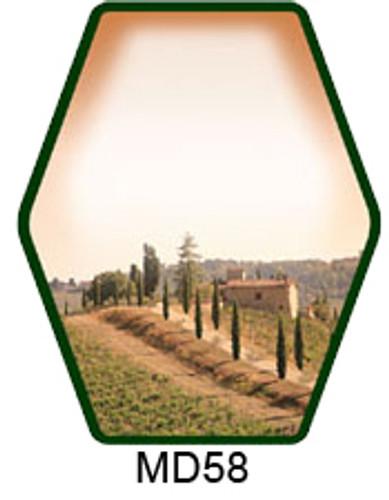 Tuscan Vineyard Labels - 30 ct (MD58WF)