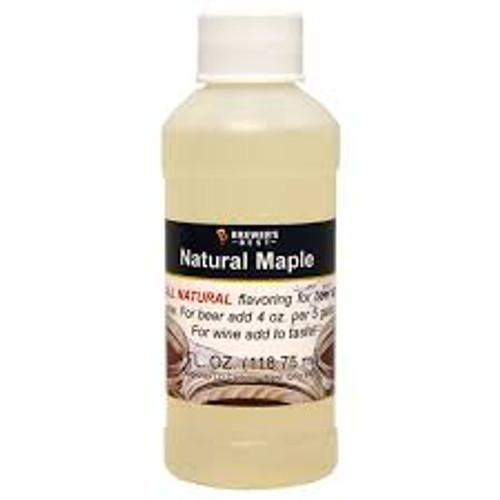 Maple Natural Fruit Flavor 4oz
