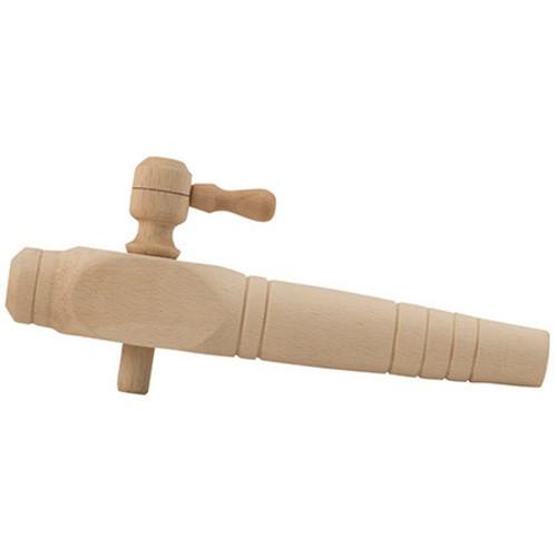 "Wooden Barrel Spigot - 6"""