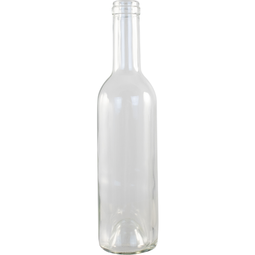 Wine Bottle Clear 375mL Burgundy (24ct)