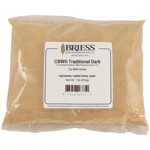 Briess Traditional Dark Dry Malt Extract 3 lb