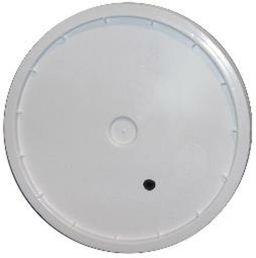 7.9 Gallon Bucket Lid Drilled w/ Gommet