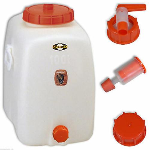 Speidel Plastic Fermenter - 26.4 gal (100l)