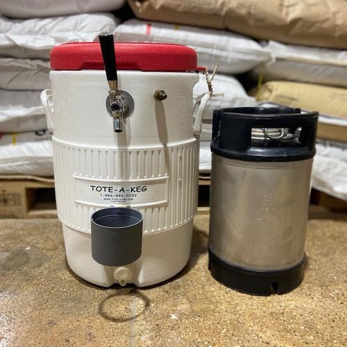 USED tote-a-keg & corny keg