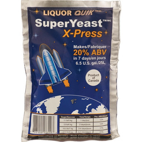 Liquor Quik SuperYeast X-press Turbo Yeast