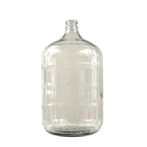 USED 3 Gal. Glass Carboy w/ handle