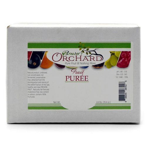 Brewer's Orchard Raspberry Puree - 4.4 lb