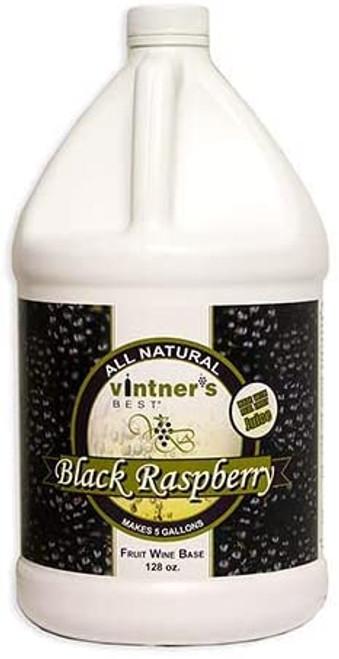 Vintner's Best Black Raspberry Fruit Wine Base 128 OZ (1 gallon)
