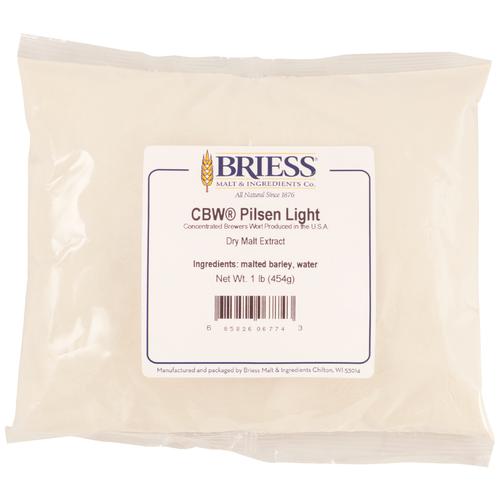 Briess Pilsen Light Dry Malt Extract 3lb