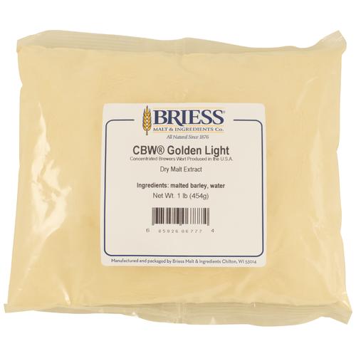 Briess Golden Light Dry Malt Extract 3lb