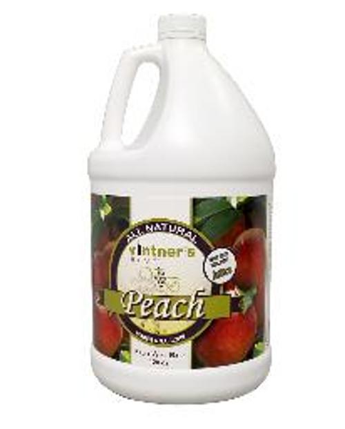 Vintner's Best Peach Fruit Wine Base 128 OZ (1 gallon)