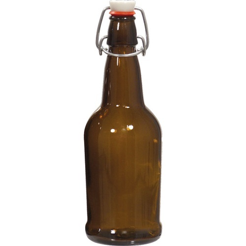E.Z. Cap Swing Top Bottle Amber 1L (12ct)