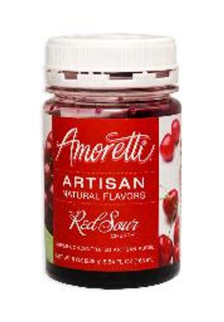 Red Sour Cherry Amoretti Artisan Fruit Puree 8oz