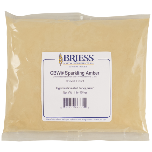 Briess Sparkling Amber Dry Malt Extract 1lb