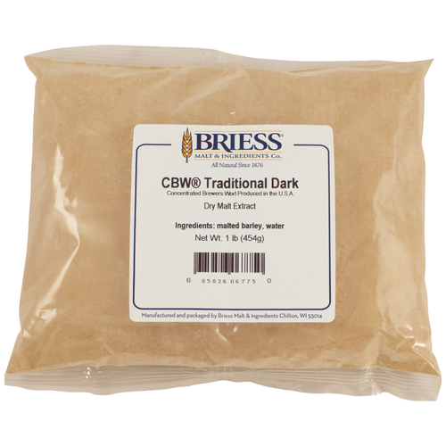 Briess Traditional Dark Dry Malt Extract 1lb