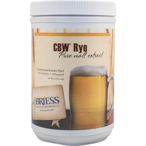 Briess Rye Malt Extract 3.3lb
