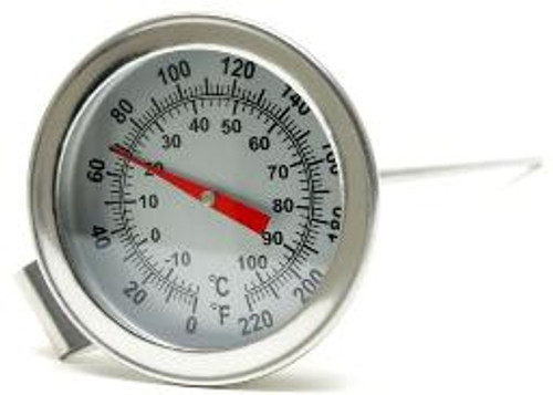 """Stainless Dial Thermometer 12"""""""