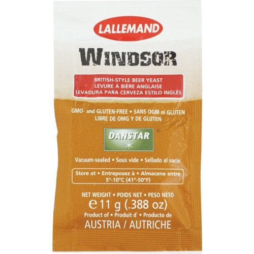 Lallemand Windsor Dry Ale Yeast 11g