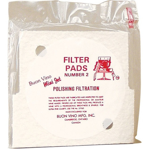 Minijet Filter Pads #2 Medium