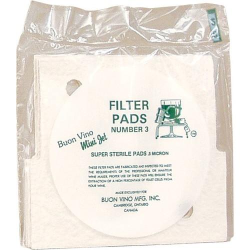 Minijet Filter Pads #3 Fine