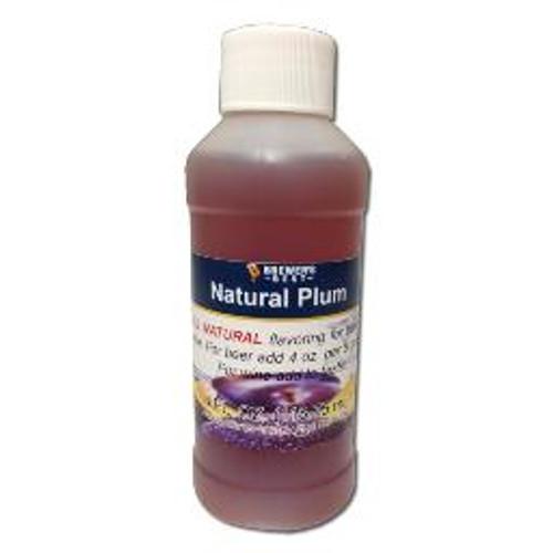 Plum Natural Fruit Flavor 4oz
