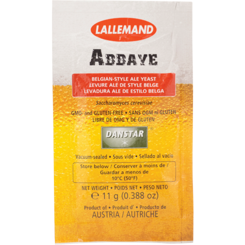 Lallemand Abbaye Dry Ale Yeast 11g