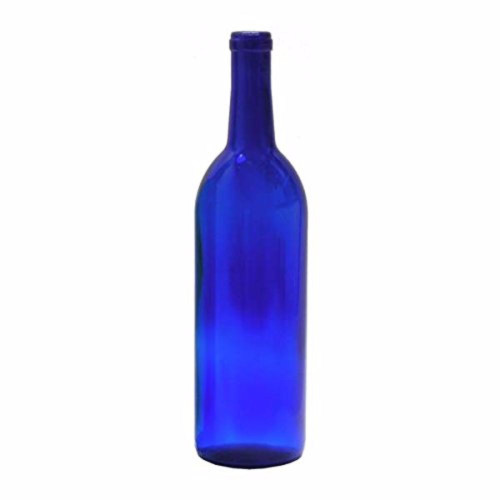 Wine Bottle Blue 750ml Bordeaux (12ct)