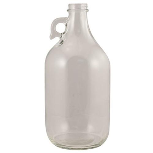 1/2 Gallon Clear Glass Jug