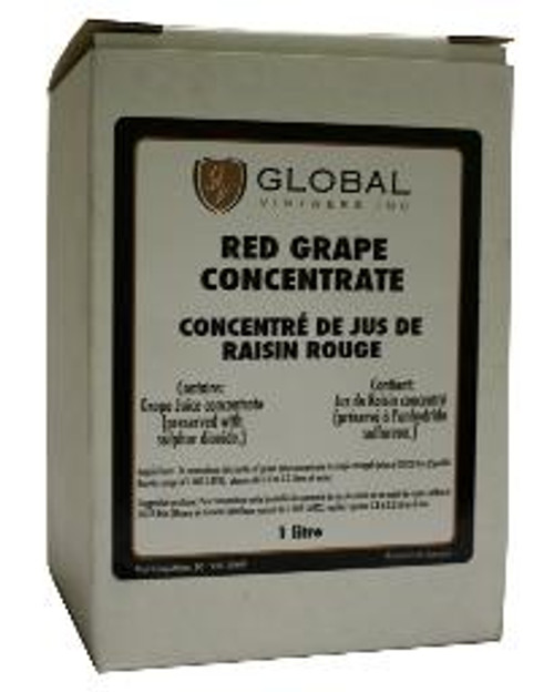 Red Grape Concentrate - 1 liter