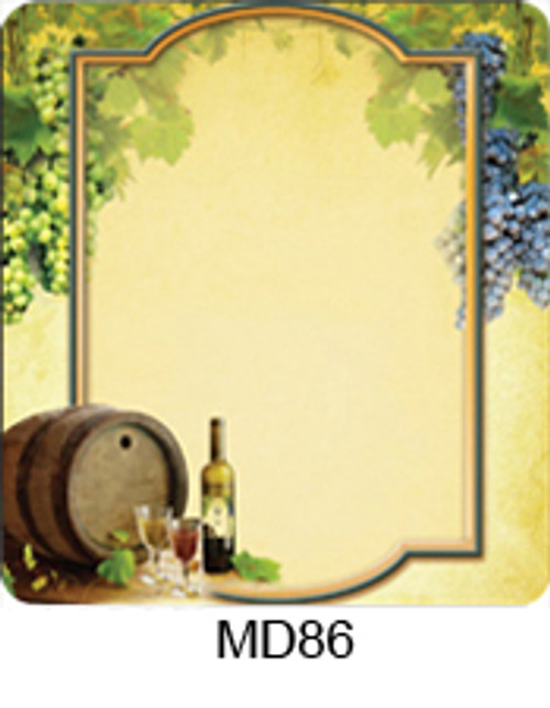 Grapes on Vine Labels - 30 ct (MD86WF)