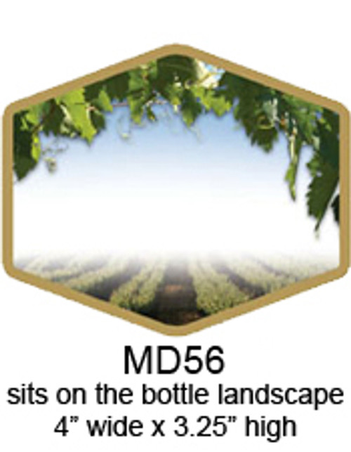 Diamond Vineyard Labels - 30 ct (MD56WF)