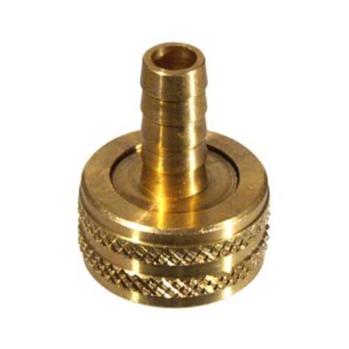 """Brass Garden Hose Adaptor 3/8"""" Barb"""