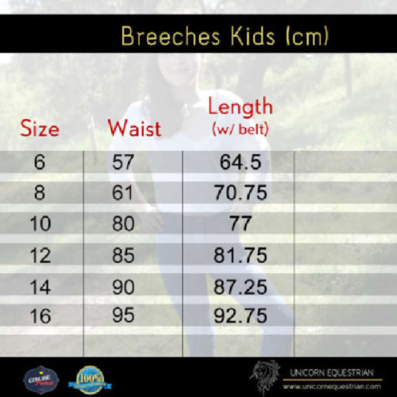 Two Tone Kids Breeches Beige & Brown