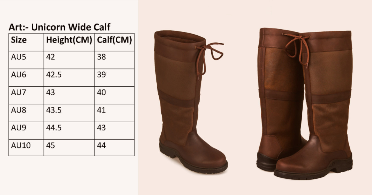 Long Riding Leather Waterproof Boots